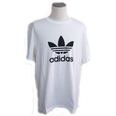 アディダス Tシャツ adidas 半袖Tシャツ ADIDAS TREFOIL クラシック トレフォイル 半袖Tシャツ メンズ GN3463 WHITE ホワイト