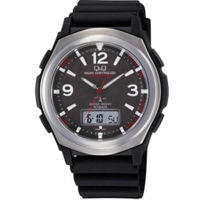 【正規品】Q&Q キュー&キュー 腕時計 CHITIZEN シチズン MD16-305 メンズ SOLAR MATE ソーラーメイト ソーラー電波