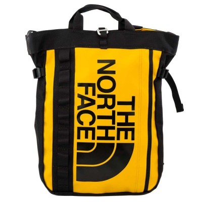 THE NORTH FACE ザ ノースフェイス トートバッグ NF0A3KX2 70M Base Camp Tote Bag 男女兼用 バックパック 2WAY TNF イエロー