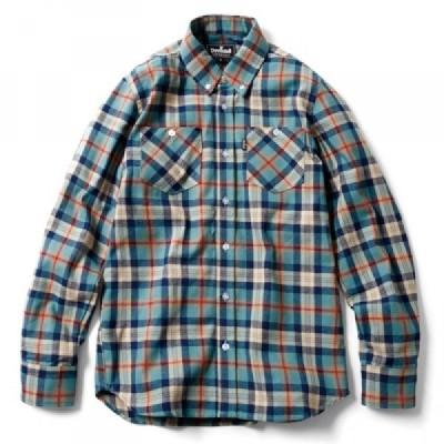 Deviluse Check Shirts(Blue)
