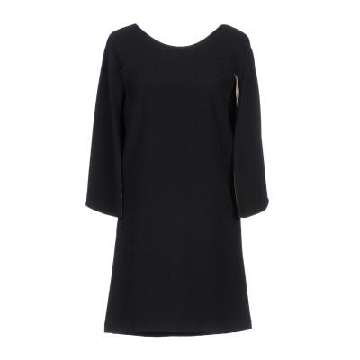 アンナリータ エンネ ANNARITA N ミニワンピース&ドレス ブラック 44 94% ポリエステル 6% ポリウレタン ミニワンピース&ドレス