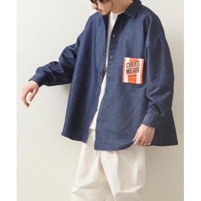 ZIP FIVE / [Cooker Shirt]高密度オーバーサイズシェフビックシャツオーバーサイズシェフビックシャツ【ユニセックス】【セットアップ可能】【リンクコーデ】 MEN トップス > シャツ/ブラウス
