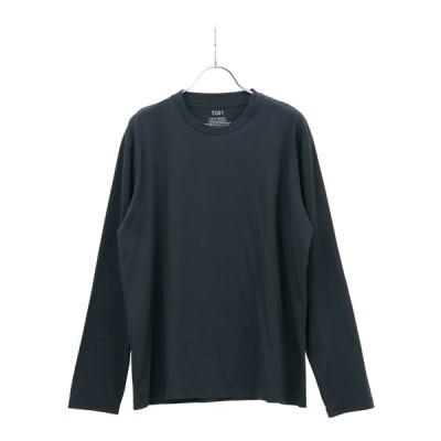 HEYA WEAR ウォッシャブル UVカット T001シルケットスムースロングTシャツ ネイビー