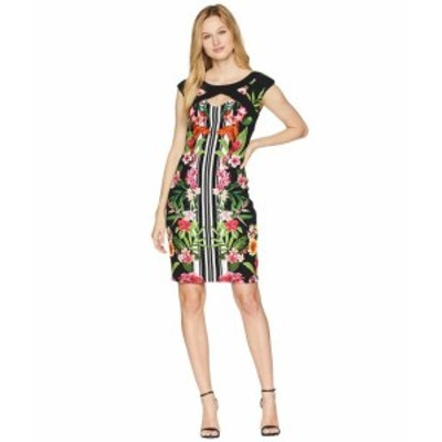 Sangria サングリア ドレス 一般 Tropical Cap Sleeve Dress