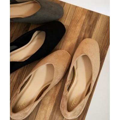 靴 大きいサイズ レディース スクエアトゥ フラット シューズ 4Eワイズ グレー/ブラック/ベージュ 23.0~23.5/24.0~24.5/25.0~25.5/26.