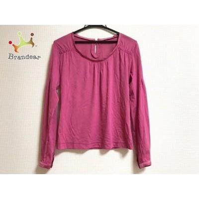 ボディドレッシングデラックス BODY DRESSING Deluxe 長袖カットソー レディース 美品 ピンク   スペシャル特価 20201123