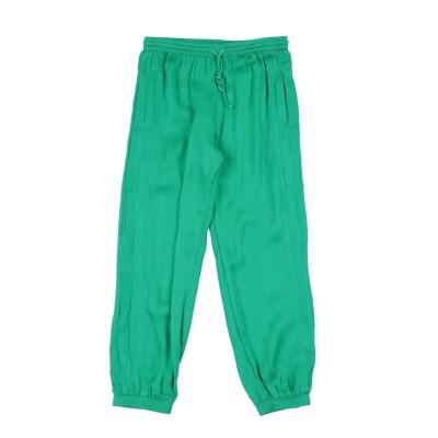 SIMPLE KIDS パンツ グリーン 6 レーヨン 100% パンツ