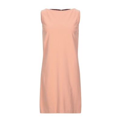 チルコロ 1901 CIRCOLO 1901 ミニワンピース&ドレス あんず色 40 コットン 96% / ポリウレタン 4% ミニワンピース&ドレス