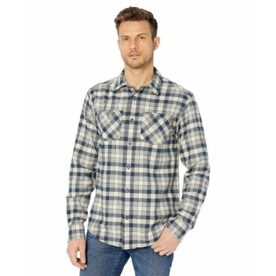 ティンバーランド シャツ トップス メンズ Woodfort Flex Flannel Work Shirt Total Eclipse Littleton Plaid