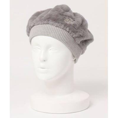 ZOY / 《ZOY》WOMENS ファーベレー帽 WOMEN 帽子 > ハンチング/ベレー帽