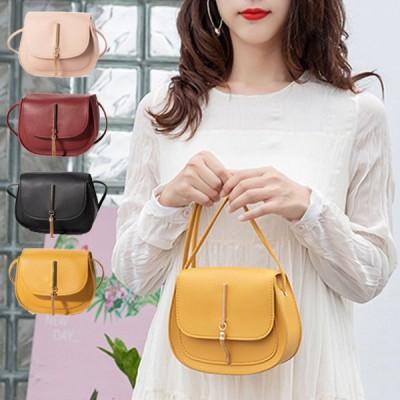 ショルダーバッグ コンパクト ミニ 小さめ PUレザー 合成皮革 無地 斜めがけ 軽い バッグ 鞄 レディース