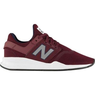 ニューバランス New Balance メンズ スニーカー シューズ・靴 247 V2 Trainers Burgundy/Wht