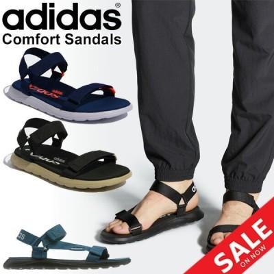 ストラップサンダル レディース メンズ シューズ アディダス adidas スポーツサンダル COMFORT SANDALS/スポーツ【a20Qpd】 アウトドアテイスト/CF-SANDAL