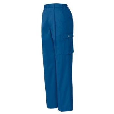 アイトス:ムービンカット レディーススタイリッシュカーゴパンツ(1タック) ブルー LL 6329