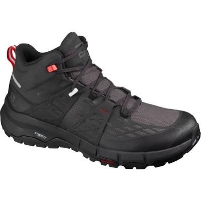 サロモン Salomon メンズ ハイキング・登山 ブーツ シューズ・靴 Odyssey Mid GTX Hiking Boot Black/Shale/High Risk Red