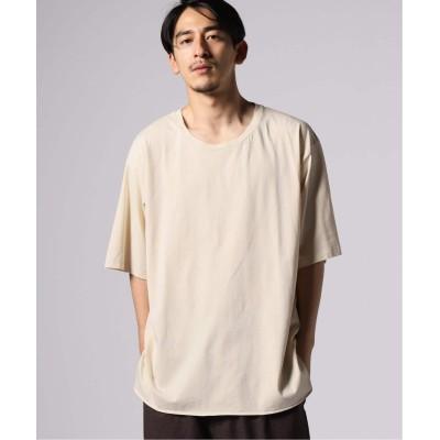メンズ ジャーナルスタンダード サイロテンジク SLOW SLIT Tシャツ ベージュ S