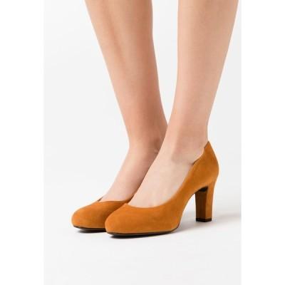 ウニサ ヒール レディース シューズ NUMIS - Platform heels - fumeric