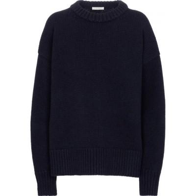 ザ ロウ The Row レディース ニット・セーター トップス ophelia wool and cashmere sweater Dark Navy