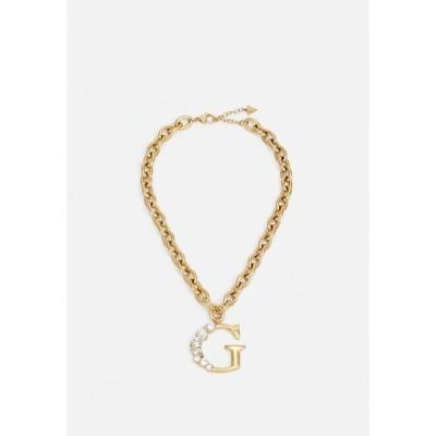 ゲス ネックレス・チョーカー・ペンダントトップ レディース アクセサリー PURE LIGHT - Necklace - yellow gold-coloured