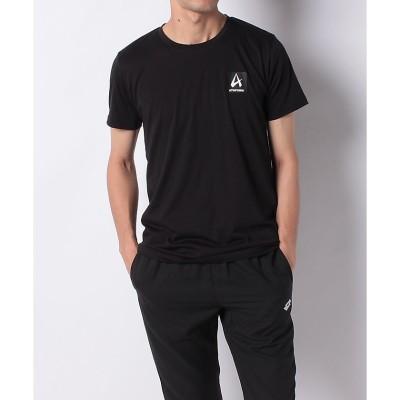 ATHFORM(アスフォーム) S/SボックスロゴTシャツ XL~ BLK メンズ AF-F19-008-073