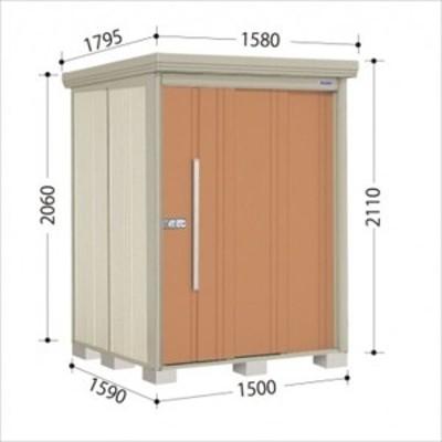 物置 屋外 おしゃれ タクボ物置 ND/ストックマン 側面棚 ND-Z1515Y 一般型 結露減少屋根 『追加