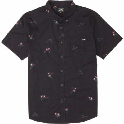 ビラボン Billabong メンズ トップス Sundays Mini Shirt Black/Aqua