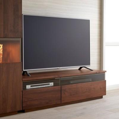 ウォルナット天然木テレビ台 幅150cm H88121
