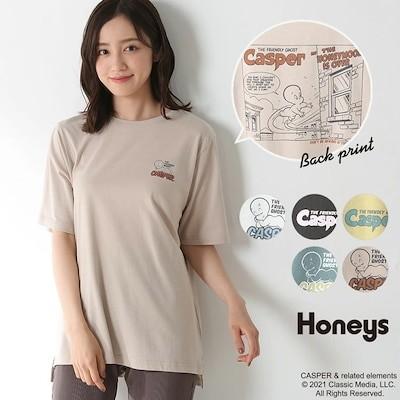 Tシャツ(キャスパー) SALE トップス Tシャツ 半袖 イラストプリント