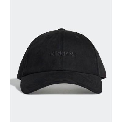 帽子 キャップ プレミアム エッセンシャルズ スエード ベースボールキャップ / アディダスオリジナルス