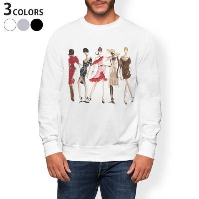 トレーナー メンズ 長袖 ホワイト グレー ブラック XS S M L XL 2XL sweatshirt trainer 裏起毛 スウェット 女性 ファッション おしゃれ 013286