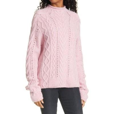 ラグ&ボーン RAG & BONE レディース ニット・セーター トップス Ariel Mock Neck Sweater Pale Pink