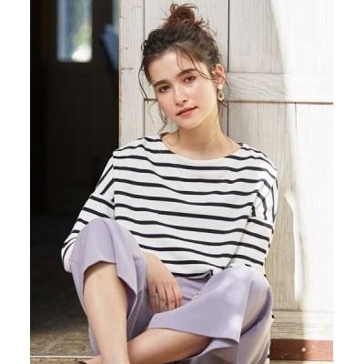 any SiS / 【L'aube】 バスクシャツ カットソー WOMEN トップス > Tシャツ/カットソー