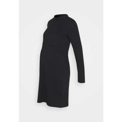 レディース ジャージドレス CALA JUNE - Jersey dress - black