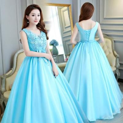 ロングドレス フォーマル 花嫁ウェディングドレス 演奏会 ウエディングドレス パーティードレス 安い 大きいサイズ 二次会 カラードレス 二次会 ドレス 花嫁