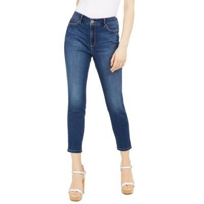 ジェシカシンプソン デニムパンツ ボトムス レディース Hi Rise Kiss Me Ankle Skinny Jeans True Blue