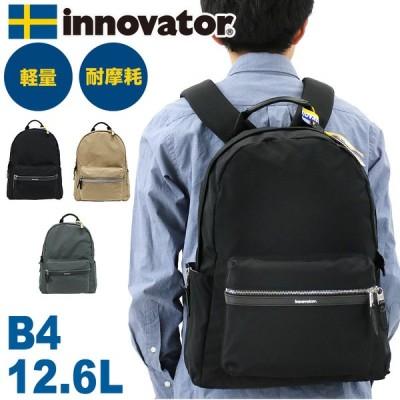 innovator(イノベーター) Vanlig(ヴァンリグ) Norm(ノーム) リュック デイパック リュックサック 12.6L B4 軽量 PC収納 INB-100 メンズ レディース 送料無料