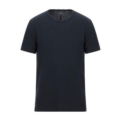 ジョン・バルベイトス JOHN VARVATOS T シャツ ダークブルー XS コットン 100% T シャツ