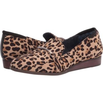 ドクター ショール Dr. Scholl's レディース ローファー・オックスフォード シューズ・靴 Dezi Tan/Black Leopard