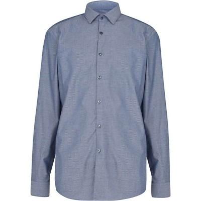 ヒューゴ ボス Hugo メンズ シャツ トップス Kenno Shirt Blue