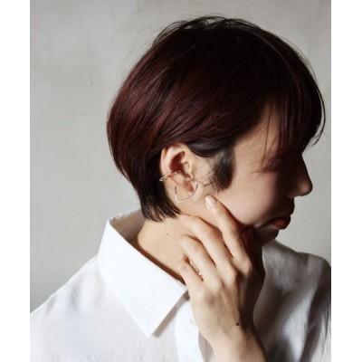 melin ear cuff  double sector  silver イヤーカフ