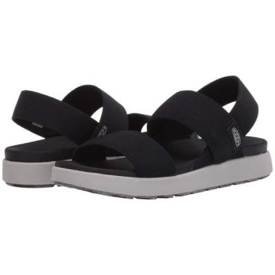 キーン KEEN レディース サンダル・ミュール バックストラップ シューズ・靴 Elle Backstrap Black