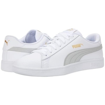 customerAuth Smash V2 L メンズ スニーカー 靴 シューズ Puma White/Gray Violet/Puma Team Gold