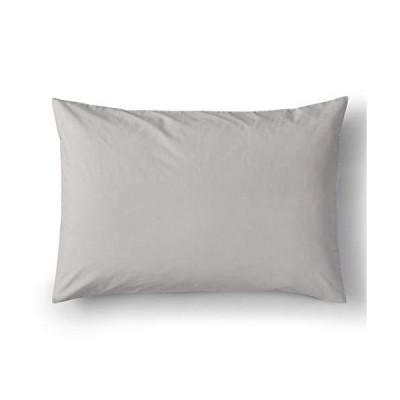 オフタイム(offtime) 枕カバー 綿100% グレイ 43X63cm AJ001P 2個セット
