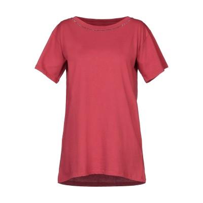BRAND UNIQUE T シャツ 赤茶色 2 コットン 100% T シャツ