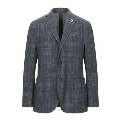 LARDINI テーラードジャケット  メンズファッション  ジャケット  テーラード、ブレザー ブルー