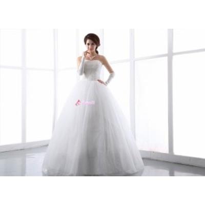 【送料無料】ウェディングドレス、結婚式、二次会ドレス、花嫁ドレス、パーティードレス  ブライズメイド