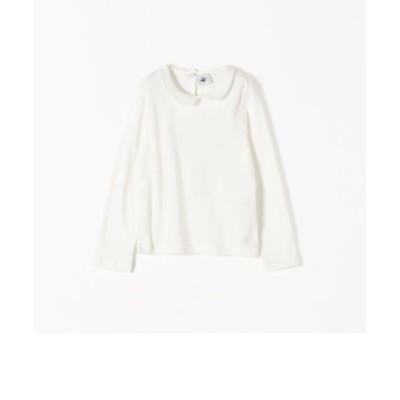 PETIT BATEAU: 襟付き ロングスリーブ Tシャツ 120-140cm