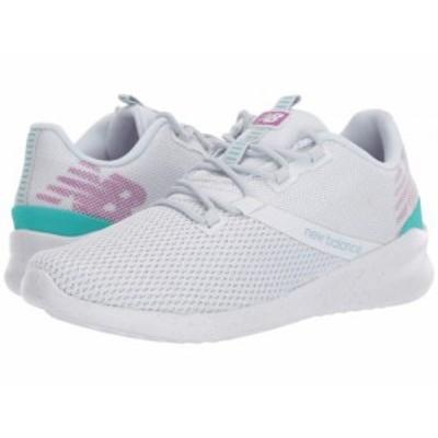 New Balance ニューバランス レディース 女性用 シューズ 靴 スニーカー 運動靴 CUSH+ District Run Arctic Fox/Voltage【送料無料】