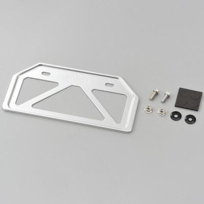 99643 デイトナ 原付用山型 軽量ナンバープレートホルダー Mサイズ クリアー リフレクター無し