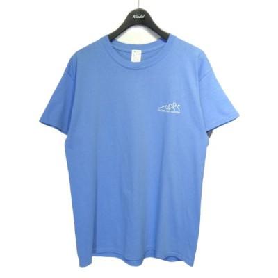 flying soy saucer プリントTシャツ ブルー サイズ:L (名古屋栄店) 210413